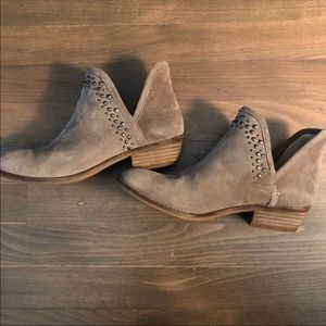 Lucky Brand Studded Booties Size 7.5